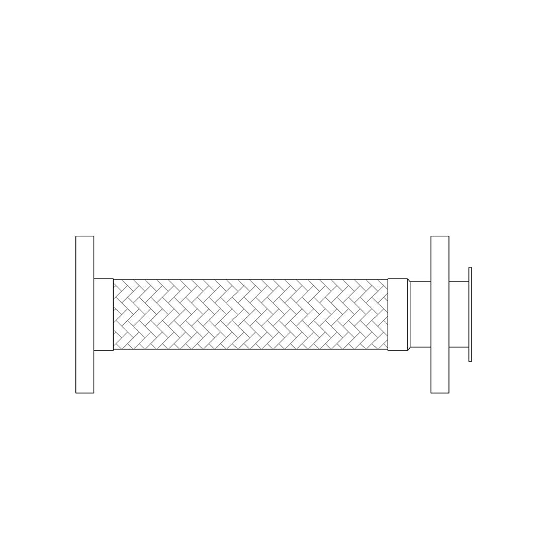 Fixed X Floating Flange - Blank