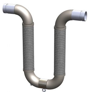 """U"" Loop plus spool with groove connection"